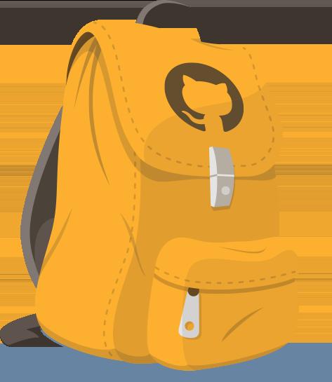 github backpack logo